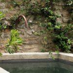 Fontaine bec en cuivre