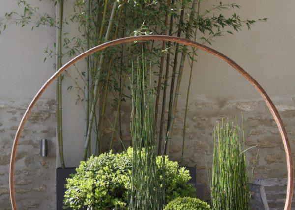 jardin rond pujaut